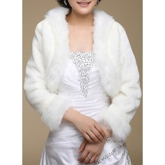 Polyester Artificial Wool Wedding Wrap