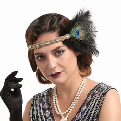 Ladies' Glamourous/Unique/Amazing/Eye-catching Feather With Feather Fascinators/Kentucky Derby Hats/Tea Party Hats (196220134)