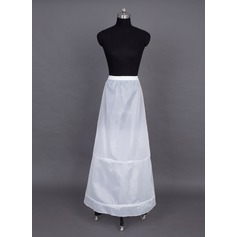 Women Nylon Floor-length 1 Tier  Petticoats (037024156)