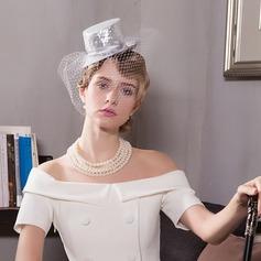 Damen Elegant Organza Kopfschmuck/Tea Party Hüte