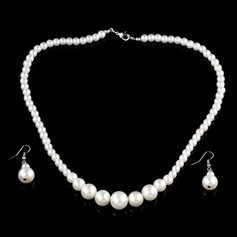 Exquisite Alloy With Imitation Pearl Women's Jewelry Sets