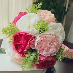 Fascinant Forme libre Satiné Bouquets de mariée -