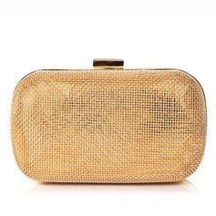 Gorgeous Metal/Polyester Clutches (012066281)