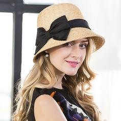 Sonar Naisten Kaunis/Tyylikäs Rottinki paalinpurkain jossa Bowknot Keilaaja / Clochen hattu/Olkihattu