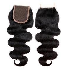 "4""*4"" 4A Body Human Hair Closure (Sold in a single piece) (235146407)"