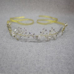 Ladies Elegant Rhinestone/Alloy Headbands With Rhinestone