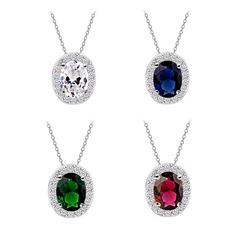Высокое качество Циркон/Платина покрыли ожерелья