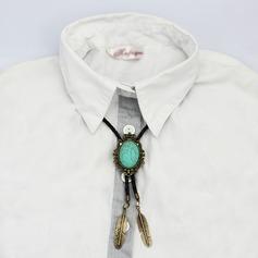 Klassisk stil moderne stil Kallaite Alloy Bolo Tie (200080962)