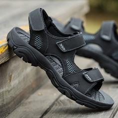 Men's Microfiber Leather Casual Men's Sandals