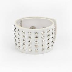 Уникальный кожа с заклепки Женщины Модные браслеты (Продается в виде единой детали)