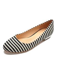 Kvinnor Tyg Flat Heel Platta Skor / Fritidsskor skor
