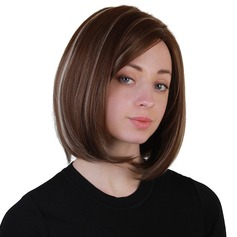 Kinky Straight Synthetic Hair Synthetic Wigs 180g