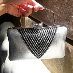 Classical Crystal/ Rhinestone/PU Clutches/Totes (012118275)