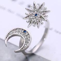Mode Zirkoon Koper Dames Fashion Ringen