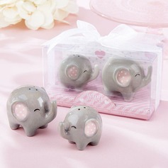 Lovely Elephant Salt & Pepper Shakers