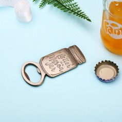 Simple Zinc Alloy Bottle Openers (Set of 4)