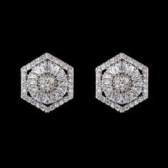Klassisk Zirkon Damer' örhängen