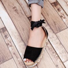 Femmes Talon plat Sandales chaussures