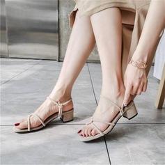 Femmes Velours Talon bottier Sandales Escarpins avec Boucle chaussures