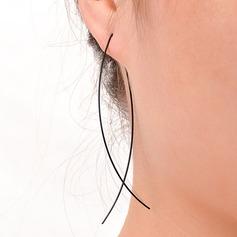 Fantaisie Alliage/Strass/Cristal avec Strass/Cristal Dames Boucles d'oreilles