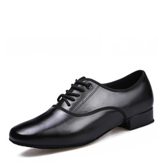 Hommes Vrai cuir Chaussures plates Latin Chaussures de danse