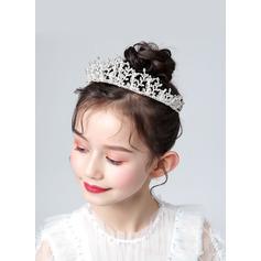 Flower Girl Slitina/Krystal/Kamínky Korunky