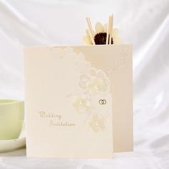 Bloemen Stijl Tri-Fold Invitation Cards (Set van 10) (114032362)