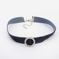 Chic Legering Strass med Strass Damer' Mode Halsband