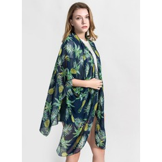 Blommig/Country Style attraktiv/mode Beach Poncho