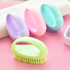 Casual Lovely Plastic Cleaning Brush (Set of 2)
