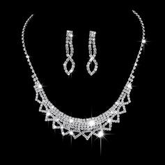 Exquisite Liga/Cobre com Strass Senhoras Conjuntos de jóias