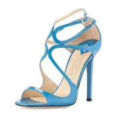 De mujer PU Tacón stilettos Sandalias Salón Encaje con Hebilla zapatos