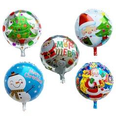Ballon Schattig Aluminium Foil (Set van 5) Ronde Geschenken