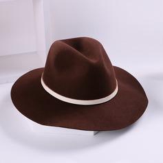 Damer' Glamorösa/Enkel/Nice Ull Diskett Hat