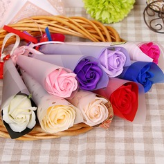 Såpe Flower Flower Gaver (sett av 3) -