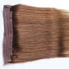 6A Virgin / remy Rakt människohår Tape i hårförlängningar (Säljs i ett enda stycke) 100g