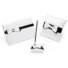 Black & White Collection Set With Bowknot