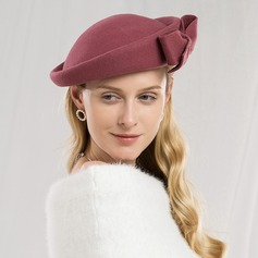 Damer' Iögonfallande/Söt/Hög Kvalitet Ull med Bowknot Basker Hat