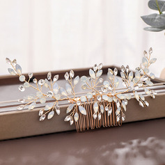Ladies Romantic Rhinestone/Alloy Combs & Barrettes (Sold in single piece)