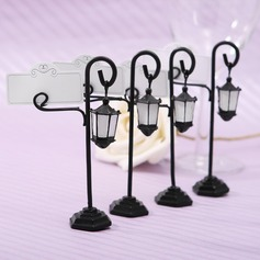 Street Lamp Zinc Alloy/Resin Place Card Holders  (051024165)