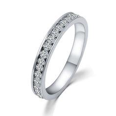 Luminoso Aleación/Diamantes de imitación Señoras' Anillos