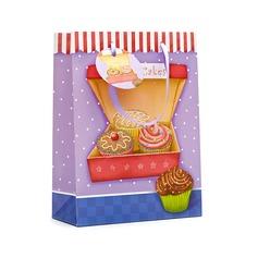 Precioso Cuboidea Bolsos de regalos con Cintas
