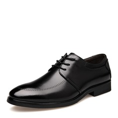Men's Leatherette Cap Toes Lace-up Dress Shoes Men's Oxfords (259173585)