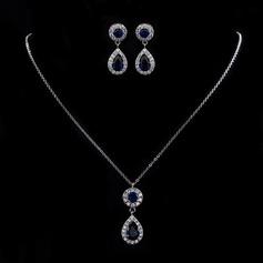 Vackra Och Zirkon Damer' Smycken Sets