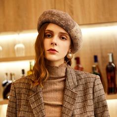 Damen Glamourös/Klassische Art/Hübsche Wollen/Acryl Baskenmütze Hut