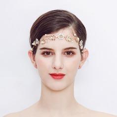 Con estilo Aleación/La perla de faux Diademas