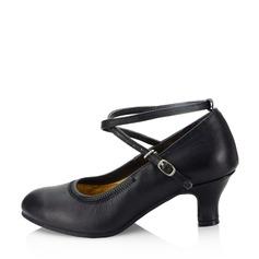 Femmes Vrai cuir Chaussures de Caractère Chaussures de danse