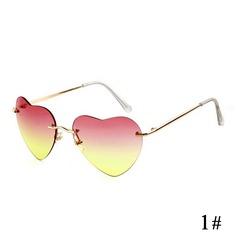 UV400 Chic Wayfarer Em forma de coração Oculos de sol (201083503)