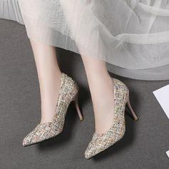 Женщины кожа PU Высокий тонкий каблук На каблуках أحذية