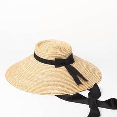 Señoras' Especial/Estilo de la vendimia Ratán paja Sombrero de paja/Derby Kentucky Sombreros